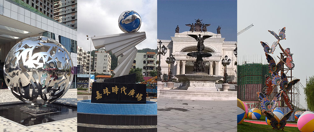 地产雕塑案例