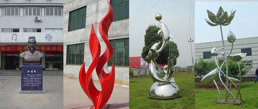 企业雕塑案例