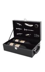 双支红酒皮盒608223-1
