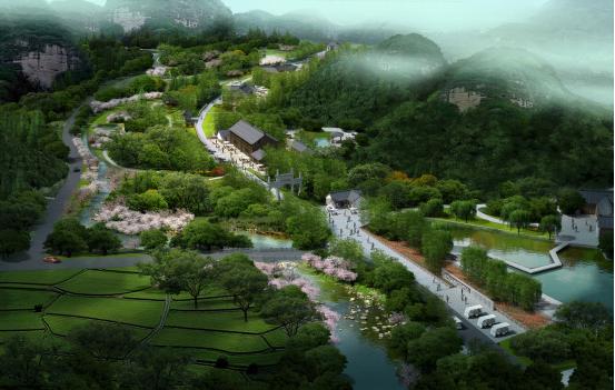 永康赫灵方岩小镇位于浙江省永康市方岩镇,距永康市区约20公里